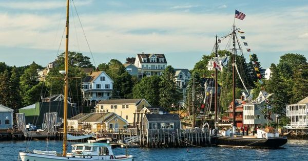 Maine S 10 Prettiest Villages Would Love To Visit East Coast Towns Amp See The Coastal Charm