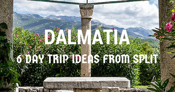 If you are travelling to Croatia and planning to visit Dalmatia, here