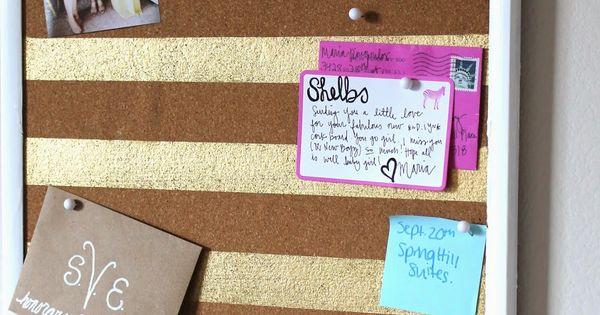 #diy corkboard ideas