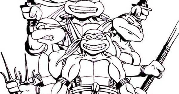 Teenage Mutant Ninja Turtles and Their Favorite Weapon ...