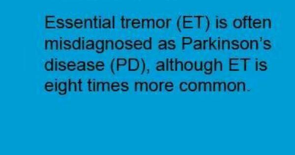 Essential Tremor Et Facts Essential Tremor Awareness
