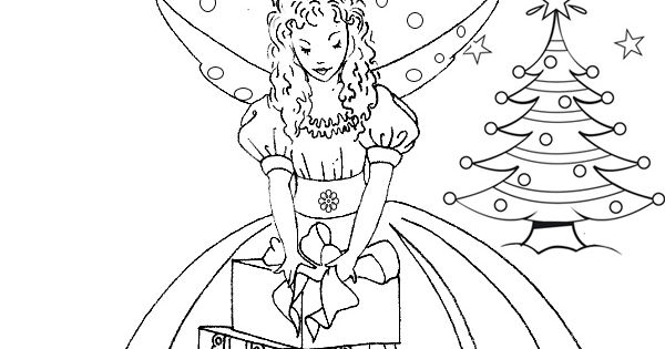 free online fairy coloring pages - photo#23