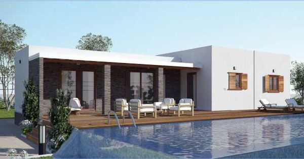 Casa prefabricada de madera cubik146m2 viviendas - Casas prefabricadas a coruna ...