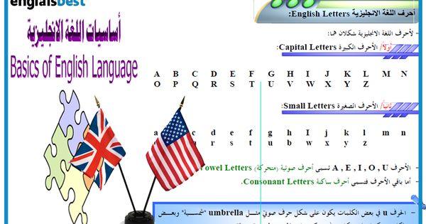 دروس انجليزية Englais Best Small Letters English Letter Language