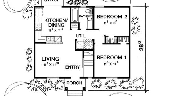 Floor plan for our future ranch house 32x32 pinterest for 32x32 house plans