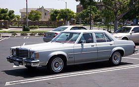 Ford Granada North America Ford Granada Granada American