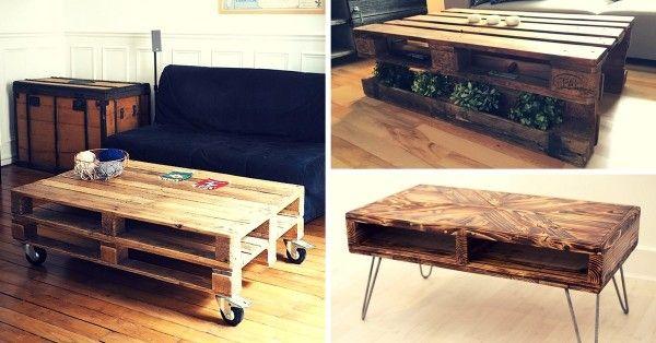 Ou Acheter Une Table Basse En Palette 5 Adresses Guide Pratique Table Basse Palette Acheter Table Basse Table De Salon