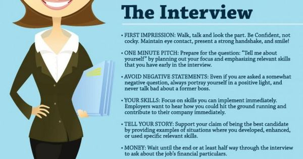 The 3 stages of a successful job interview Before, during, and - interview tips