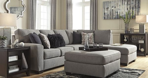 Larusi Sectional Ashley Home Store Sectional Sofa With Chaise Living Room Furniture Layout Furniture Layout