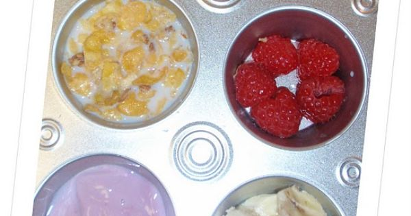 Muffin tin meals for your picky eater, or your junk food eater,