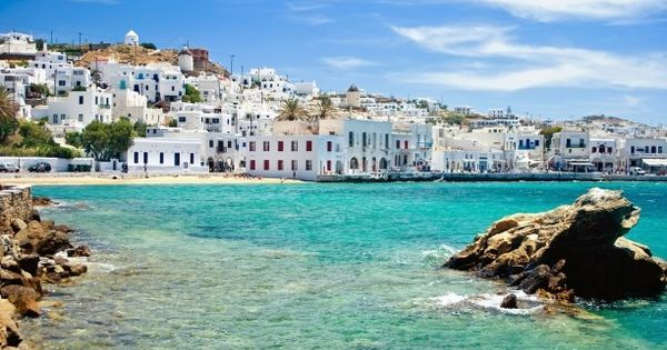 """With a vision of a gentle coast..."" Mykonos, Greece"