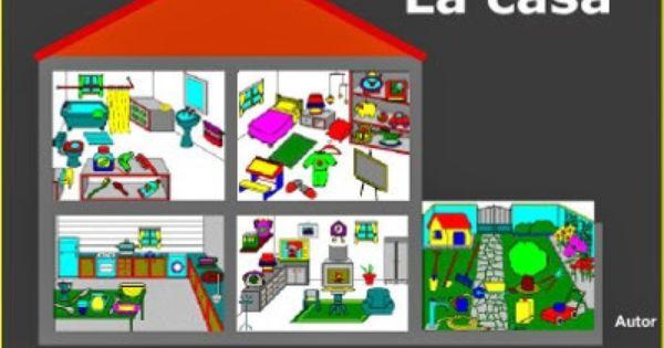 Elementos de la casa la cocina el comedor el dormitorio for Comedor en ingles