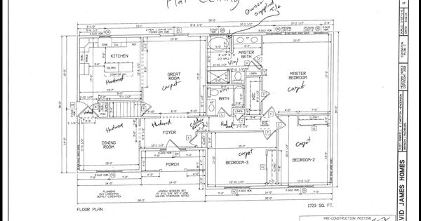 floor plan david james custom homes building a home