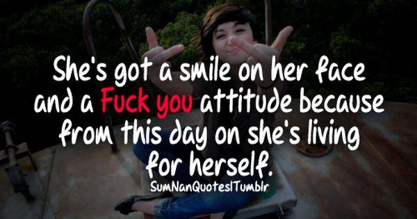 Fuck You Attitude 69