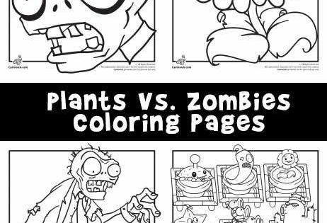 Plants Vs Zombies Coloring Pages Plants Vs Zombies Birthday Party Coloring Pages Halloween Coloring Pages