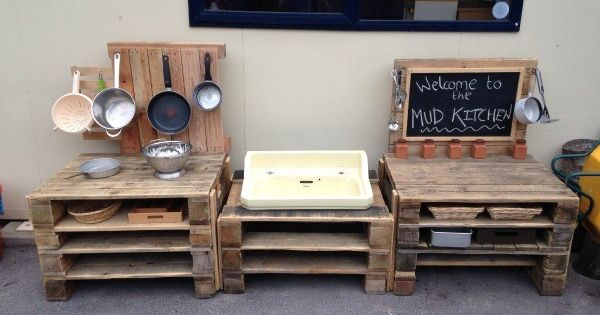 Fun ideas for outdoor mud kitchens for kids best mud for Dirty foot mud ranch