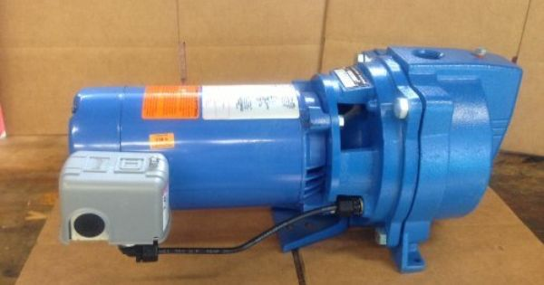 Goulds J10s 1 Hp Shallow Well Jet Pump Shallow Well Jet Pump Jet Pump Water Pump System