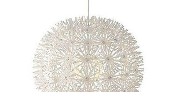 ikea maskros h ngeleuchte 55cm pusteblume designlampe. Black Bedroom Furniture Sets. Home Design Ideas