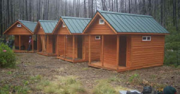 Small hunting cabins oregon timberwerks camping cabin for Small camping cabin kits