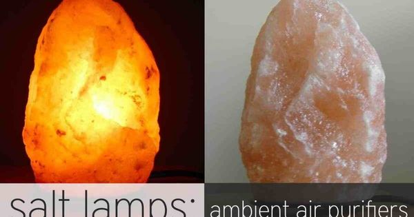 Himalayan Salt Lamps: Ambient Air Purifiers! Air purifier, Allergies and Salts