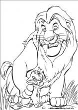 The Lion King Coloring Pages On Coloring Book Info Lion Coloring Pages Coloring Pages Disney Coloring Pages