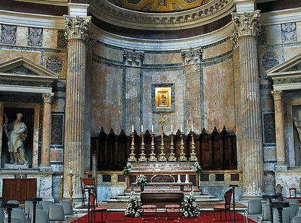 Inside the Pantheon, Rome, Italy by Mr G's Travels, via Flickr