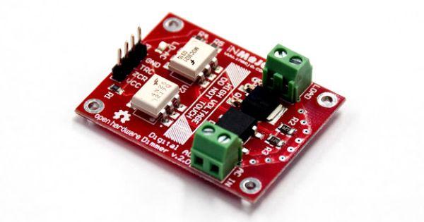 Digital ac dimmer module lite v arduino pinterest