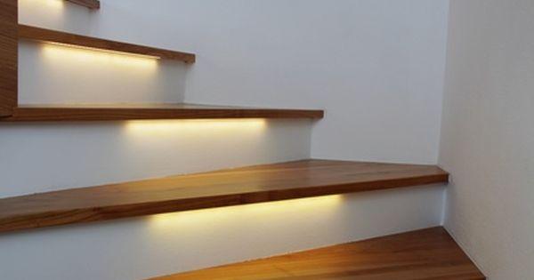 Www Leroymerlin Pl Files Media Image 052 1467052 Oswietlenie Stopni Schodow 2 Jpg Interior Interior Design Living Room Home Decor