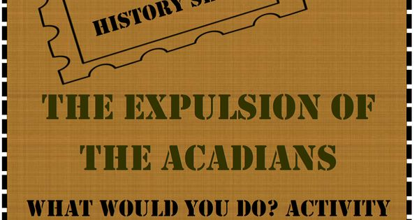 Expulsion of the acadians essay writer