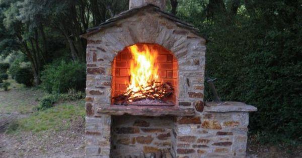 de Espace barbecue Barbecue à combustion Pierre de Annette  barbecue ...