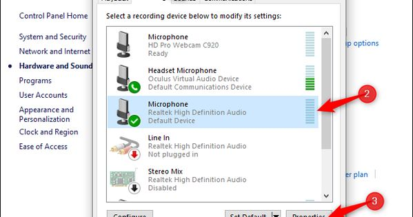 How To Reduce Microphone Background Noise On A Pc Background Noise Microphone Video Conferencing