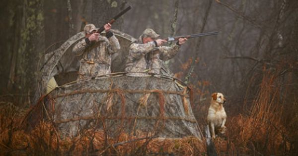 Duck House Waterfowl Blind Blinds Free Shipping At L L