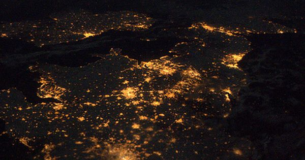 United Kingdom Ireland As Seen From The International Space Station Magical Places