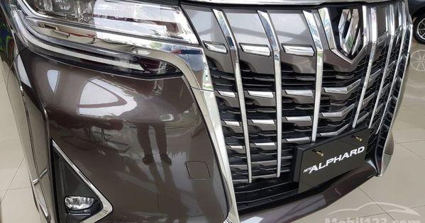 Harga Toyota Alphard X 2018 Baru Toyota General Motors Mobil