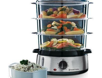 Nouveau russell hobbs 14453 food collection 7L compact cuiseur vapeur légumes steamer