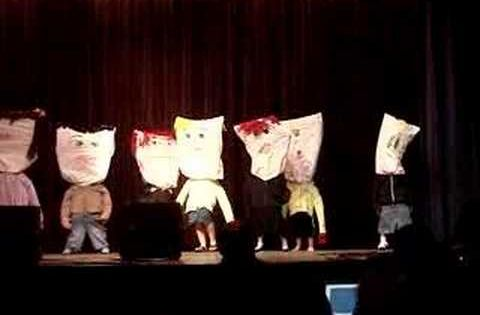 Classroom Skit Ideas : Pillow people st place performance at teacher talent show