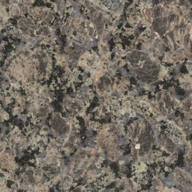 Sensa 2 In W X 3 In L Tuscany Brown Granite Countertop Sample Granite Kitchen Brown Granite Granite