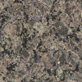 Sensa 2 In W X 3 In L Tuscany Brown Granite Countertop Sample