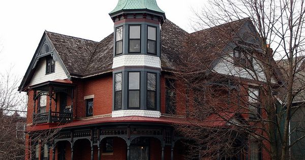 Muncie Victorian Victorian House And Architecture