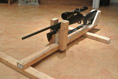 DIY Shooting Rest | Shooting rest, Diy guns, Shooting bench