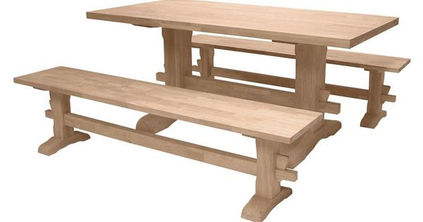 Unfinished Trestle Table Bases Google Search Dining Room Pinterest Table Bases Tables