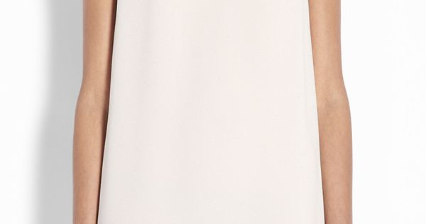 Powder Crepe Shift Dress women's summer fashion