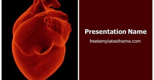 Download Free Human Heart Powerpoint Template For Your Powerpoint Presenta Free Ppt Template Powerpoint Template Free Free Powerpoint Templates Download