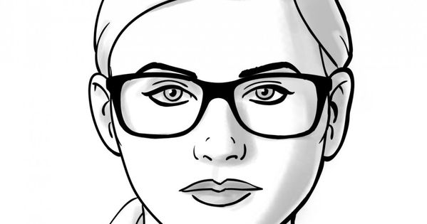 How TO: Choosing Glasses for Round Face Shapes. Coastal ...