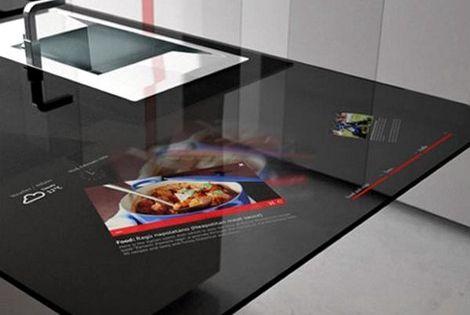Italienische Kuchen Designer Haben Mit Der Prisma Smart Kitchen Eine Hightech Kuche Entworfen Die Das Potenzial Zu Kuche Entwerfen Smart Kitchen Kuchen Design