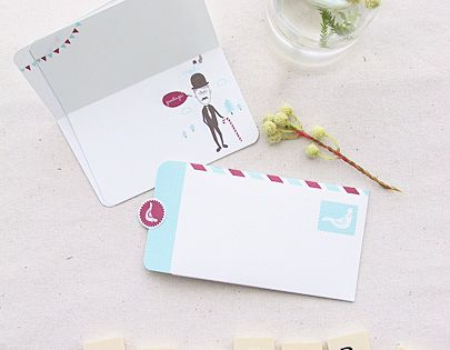 Mini Greeting Card and Letter-writing Set Freebies » Eat Drink Chic (Free