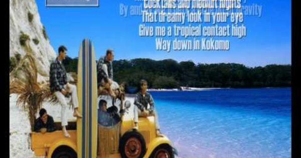 Beach Boys Kokomo Beach Songs Kokomo Lyrics The Beach Boys