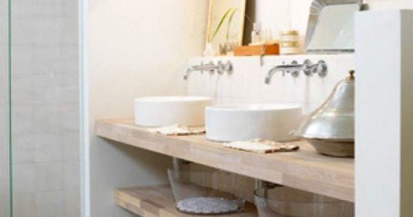 Bijzondere wastafel irisstraat pinterest wastafel lichte badkamer en badkamer wastafel - Huis wastafel ...