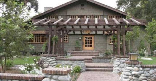 Greene And Greene House Renovation Is The Antithesis Of Green Craftsman Exterior Craftsman House Craftsman Bungalows
