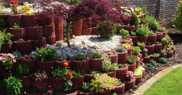 svahové záhrady prírodné - Hledat Googlem  svahove tvarnice ...